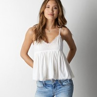 AEO Lace Inset Top