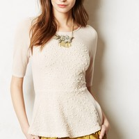 Shimmered Boucle Sweater