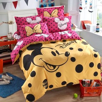 Dotted Disney Bedding Set