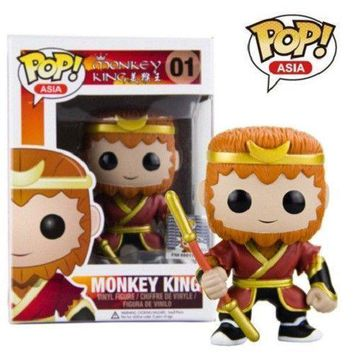 Funko Pop Journey to the West Monkey King Collectible Vinyl Figure Model Toys