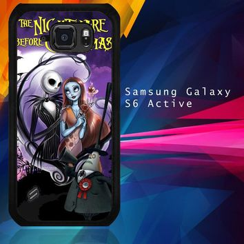 Jack And Sally Muertitos The Nightmare Before Christmas C0092 Samsung Galaxy S6 Active  Case