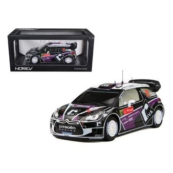 Citroen DS3 #17 WRC Rally Portugal 2012 Merksteijn Jr - Chevallier 1-18 Diecast Car Model by Norev