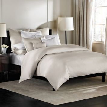Barbara Barry Dream Aurora Ombre Duvet Cover in Moonglow