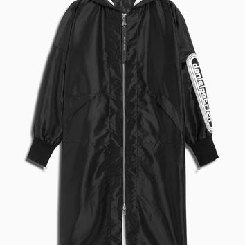 dp hero coat / black + ivory