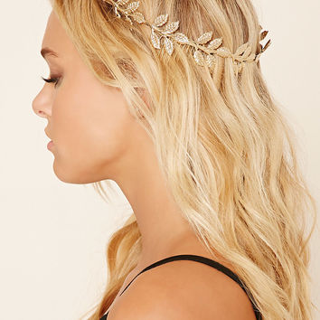 Embellished Leaf Headband
