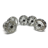 Antique Victorian Glass Drawer Knobs c1800's