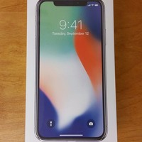 NEW Apple iPhone X - 256GB - SILVER - FACTORY UNLOCKED - FREE FAST SHIPPING