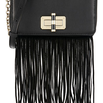 Diane von Furstenberg - 440 Gallery Bellini fringed leather and suede shoulder bag