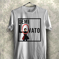 Demi lovato cute -1nn Unisex T- Shirt For Man And Woman / T-Shirt / Custom T-Shirt