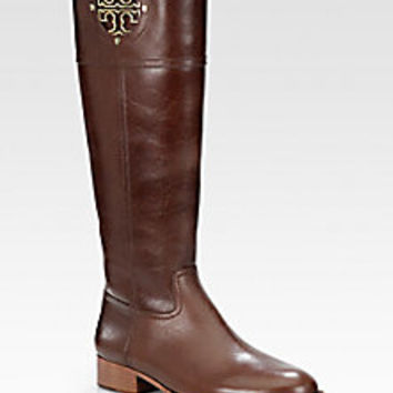 Tory Burch - Kiernan Knee-High Boots - Saks Fifth Avenue Mobile