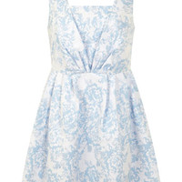 Petites Jacquard Prom Dress - Clothing - New In