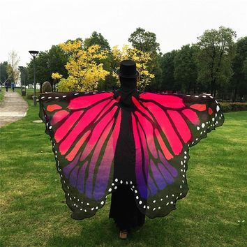 2017 Pareo Beach Cover Up Butterfly Wing Cape Bikini Cover Up Swimwear Women Robe De Plage Beach Bathing Suit Bikini Cover Up
