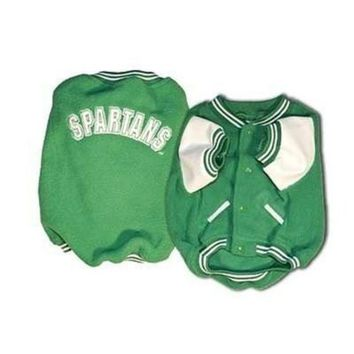 VONE05RR Michigan State Varsity Dog Jacket