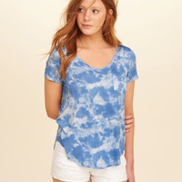 Girls Must-Have Easy Pocket T-Shirt | Girls Tops | HollisterCo.com