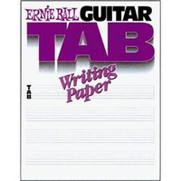 Ernie Ball Guitar Tab Writing Paper | GuitarCenter