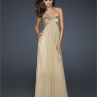 Gorgeous Floor Length Strapless Sweetheart with Sequins Prom Dress PD2120 Dresses UK