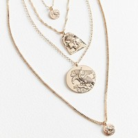 8 Other Reasons Layered Charm Necklace | Urban Outfitters