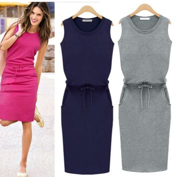 Trendy Casual Slim Hip Dress