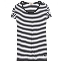burberry brit - striped cotton dress
