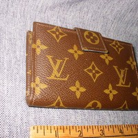 VINTAGE LOUIS VUITTON WALLET COIN PURSE BIFOLD MADE IN USA 1970'S?
