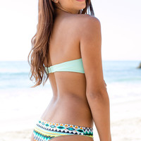Issa de Mar - Poema Reversible Bottom | Mint/Tribal