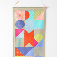 Beci Orpin Geometric Wall Hanging - Urban Outfitters