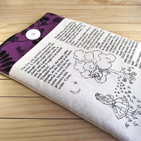 ALICE IN WONDERLAND Cheshire Cat Laptop Sleeve Macbook Air Pro Computer Zipper Bag Padded Laptop Cover