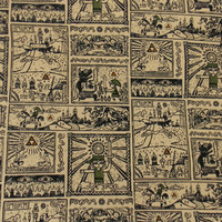 Zelda Fabric Gamer Fabric Quilt Fabric Zelda Cotton Fabric By The Yard Fabric Craft Fabric Apparel Fabric Pillow Fabric