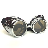 Steampunk Goggles with Removable Tinted Lens