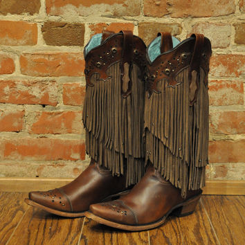 Fringe Boot Corral C1185