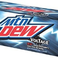 Mountain Dew Voltage Cans (12 Count, 12 Fl Oz Each)