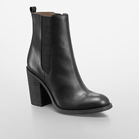 maggie leather mid-length bootie | Calvin Klein