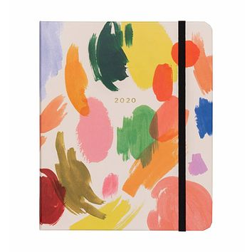 Rifle Paper Co. 17-Month 2020 Palette Planner - Covered Spiral Binding