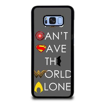 JUSTICE LEAGUE SAVE THE WORLD Samsung Galaxy S8 Plus Case Cover