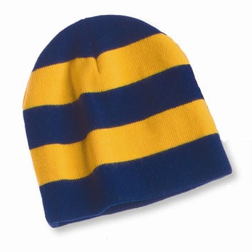 Sportsman - Rugby Striped Knit Beanie - SP01