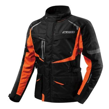 Trendy SCOYCO Winter Motorcycle Jacket Chaqueta Moto Jaqueta Motoqueiro Blouson Moto Homme Protection Gears Clothing Armor Motocicleta AT_94_13