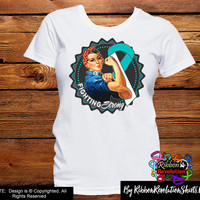 Cervical Cancer Fighting Strong (Rosie The Riveter) Shirts