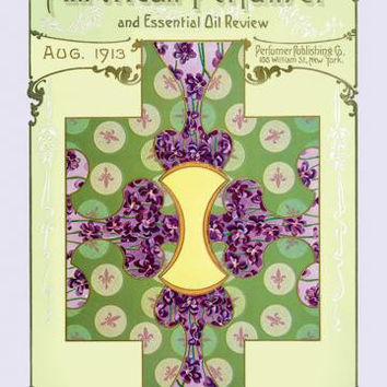 American Perfumer and Essential Oil Review, August 1913 20x30 poster
