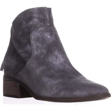 Lucky Brand Lahela Ankle Boots, Charcoal, 7 US