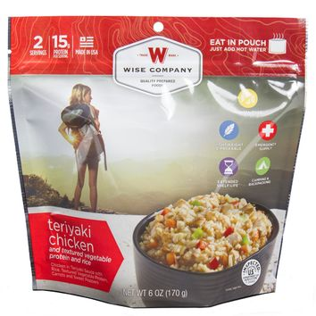Wise Entre Dish - Teriyaki Chicken and Rice, 2 Servings
