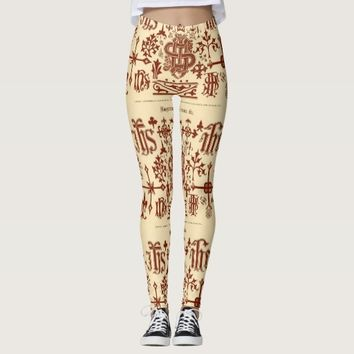 Monogram Women's Leggings