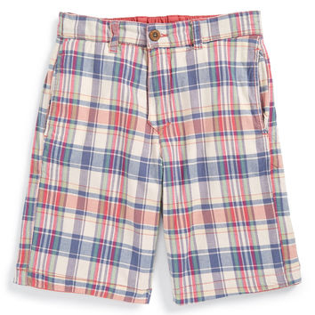 'Plaid' Reversible Shorts (Toddler Boys, Little Boys & Big Boys)