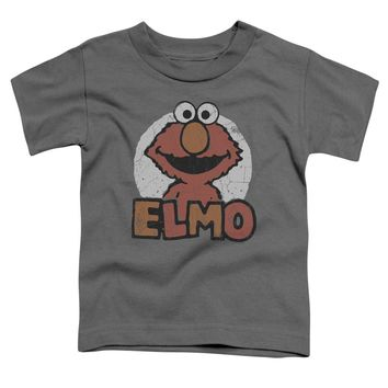Sesame Street - Elmo Name Short Sleeve Toddler Tee