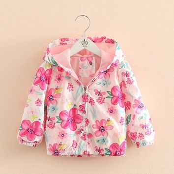 Trendy Spring Children's Hooded Jackets Coat For Boy Girls, Autumn Kids Long Sleeve Outwear Clothes, Baby Boy Girls Kids Top Clothes AT_94_13