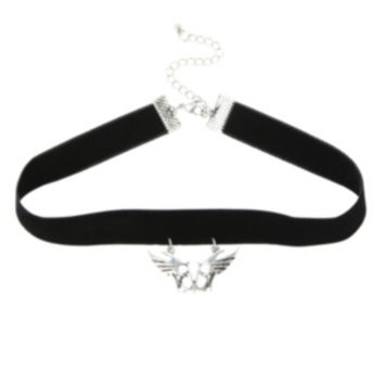 Black Veil Brides Winged Logo Choker