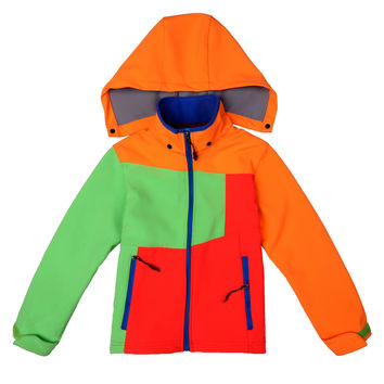 Children Unisex Waterproof Outdoors Jacket [6581744327]