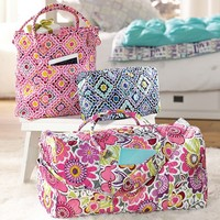 Quilted Sleepover Ruby Warm Tote
