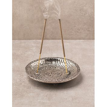Om Symbol Incense Burner