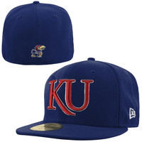 New Era Kansas Jayhawks 59FIFTY Basic Fitted Hat
