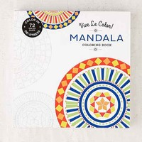 Vive Le Color! Mandala Coloring Book By Abrams Noterie